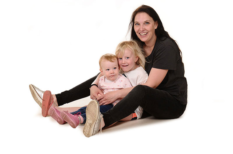 leidster en kinderen bij de kinderopvang van Nannies in Nijmegen Grootstal